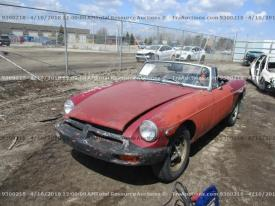 Salvage MG ROADSTER